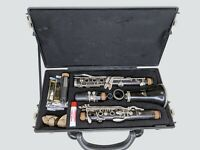 Wooden Clarinet LeBlanc Noblet 4 France Full Round Sound Great Working Condition