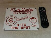 VINTAGE T & M DAIRY & ICE CREAM 10