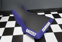 Yamaha Grizzly 700 Blue Sides Logo Seat Cover #yz122kya122