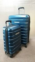 Samsonite Tech Two 2.0 2-piece Hardside Set Luggage Blue (used) 27