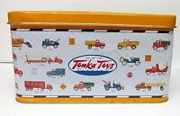 TONKA TOYS Hasbro L/E SERIES Tin Can Storage 1-'98 Large Collectible Popcorn