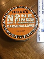 Heide's Marshmallows Tin Can
