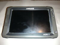 Lowrance HDS 12 INSIGHT USA GEN 2 GPS/Fishfinder SCREEN ISSUE READ DESCRIPTION!!