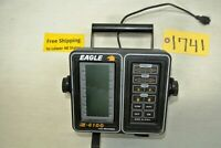 Eagle Z 6100 LCG Recorder Fish - Depth Finder Monitor w Base Free Ship