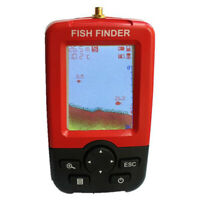 Smart Portable Depth Fish Finder with Wireless Sonar Sensor Echo Sounder F T9X3