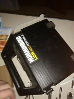 Humminbird LCR 400 ID portable fish finder w/ transducer And Case Tested Works