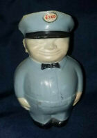 Happy Humble ESSO Man COIN BANK Advertising Gas Oil Co. 1950