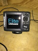 Lowrance ELITE 5 Chirp Sonar / Chartplotter / GPS With Transducer and Radio