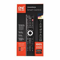 One For All URC7880 Smart Control 8 device Universal Remote Black GA $23.95