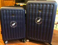 "Samsonite Beck LTD 20"" & 24"" Spinner  Expendable luggage set Light Weight Navy"