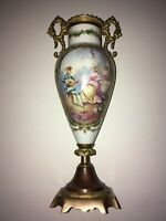 antique french porcelain vase