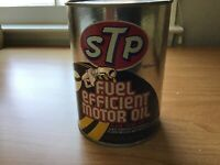 stp oil treatment motor oil advertising coin bank