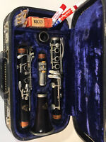 Evette Buffet Clarinet Made In W. Germany 56719 w Case Reeds 1980?