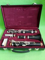 Buffet Crampon E-11 Wood Clarinet w/ Original Case B45 1115434 Made In Germany