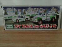 HESS 2011 TOY TRUCK AND RACE CAR COLLECTIBLE MINT IN BOX