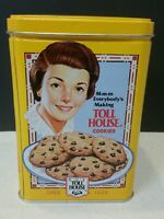 Nestle's Toll House Cookie Collector Tin With Store Stamp Recipe