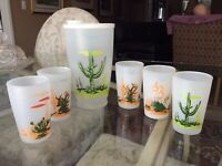 VINTAGE BLAKELY OIL AND GAS ARIZONA GLASS