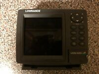 Lowrance LMS 525 Chartplotter/DepthSounder *used
