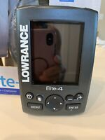 Lowrance Elite-4 Color Fishfinder, GPS + Chartplotter