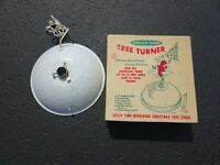 HOLLY TIME MUSICAL ROTATING CHRISTMAS TREE STAND TURNER.