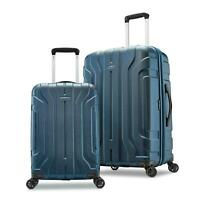 Samsonite Belmont DLX 2-Piece Hardside Luggage Set in Lagoon Blue 128192-6912