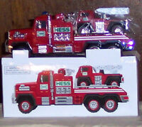 2015 Hess Toy Fire Truck and Ladder Rescue New In Box Original Packaging