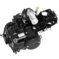 125cc 4 stroke ATV Engine Motor Semi Auto Electric Start BLACK US STOC