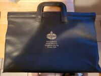 VTG AMOCO OIL GAS TRUCK SERVICE BRIEFCASE WHITING REFINERY MGT MEETING OCT. 88#x27;