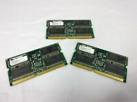 SMART SAMSUNG Module 256MB LOT OF 3 SDRAM PC 100 SM572328578DW3RSE0 $29.99