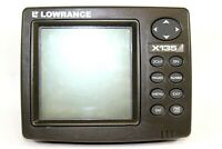 Lowrance X135 Fishfinder Fish Finder Head Unit ONLY ** Tested and Works