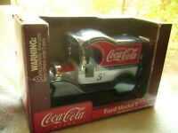 COCA COLA 1900#x27;S MODEL T FORD DIECAST BANK TRUCK a 1912 Gearbox 1:24 car