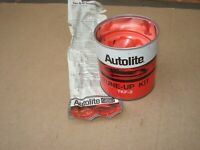 1960s Autolite Spark Plug Tune up Kit Metal Can for Your Ford Guy Man Cave