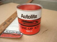 1960s Autolite Spark Plug Tune up Kit Metal Can for Your quot;Ford Guyquot; Man Cave
