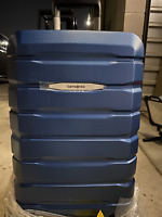 New Other Samsonite Spinner Luggage 21quot; Teal Blue Carry On Suitcase Luggage