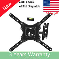 Universal Tv Wall Mount Bracket 26 55quot; Inch Swivel LCD Screen Stand Holder Frame $17.95