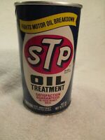 Collectible STP Oil Treatment Can 15 Oz. 1982 Mint ondition NOS
