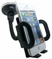 Universal Car Cradle Holder Windshield Mount Stand For Cell Phone iPhone Samsung $6.49