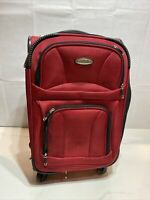 Samsonite Red Carry on Luggage
