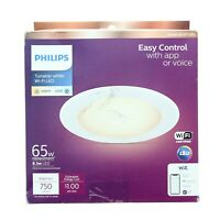 Philips Smart Wi Fi LED Tunable White 65W 750 Lumens Recessed Downlight $17.99