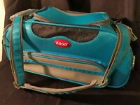 Easy Carry ARGO Aero Pet Airline Approved Pet Carrier Berry Blue NOBSM Med