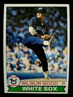 1979 TOPPS #216 WILBUR WOOD VINTAGE CARD MINT CHICAGO WHITE SOX