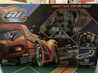HOT WHEELS Ai SMART CARS Intelligent Race System 2 CARS amp; CONTROLLERS 2.4 $45.99
