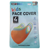Kids Face Mask Cover 32 DEGREES COOL UNISEX One Size 4 Pack