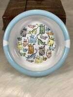 Harmony for Petco Ceramic Bowl CAT TOWN 1 cup Pastel Kitties Dishwasher Safe 🐈 $9.99