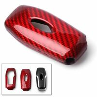 Carbon Fiber Style Car Smart Card Remote Key Case Shell Key Cover For Ford DFG $32.07