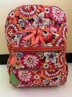 Vera Bradley Pixie Blooms Campus Backpack School Travel with Tag