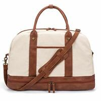 Bag Large Travel for Women Carry on Shoulder Duffle With Shoe Compartment