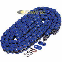 530 X 120 Links Motorcycle Atv Blue O-Ring Drive Chain 530-Pitch 120-Links