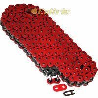 520 X 120 Links Motorcycle Atv Red O-Ring Drive Chain 520-Pitch 120-Links