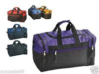 MenWomen Duffle Bag Duffel Travel Size Sports Gym Bag Workout Carry-On Gift 17